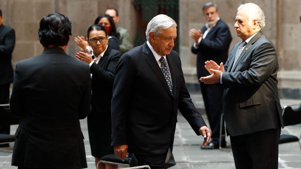 López Obrador busca anular organismos de control público y asfixiar a sociedad civil: HRW - AMLO Lopez Obrador 5 de mayo gabinete