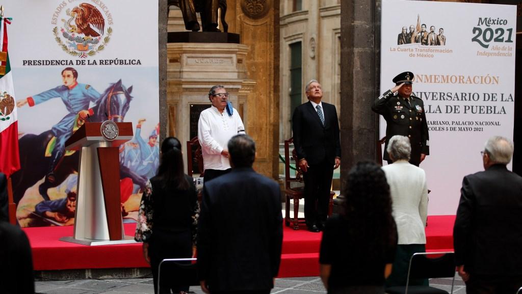 México celebra el 5 de mayo en luto nacional por tragedia del Metro - AMLO López Obrador 5 de mayo