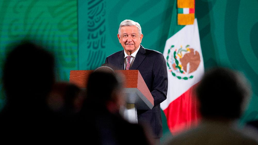 López Obrador sigue en 50 % de aprobación a 10 días de las elecciones - AMLO Lopez Obrador conferencia