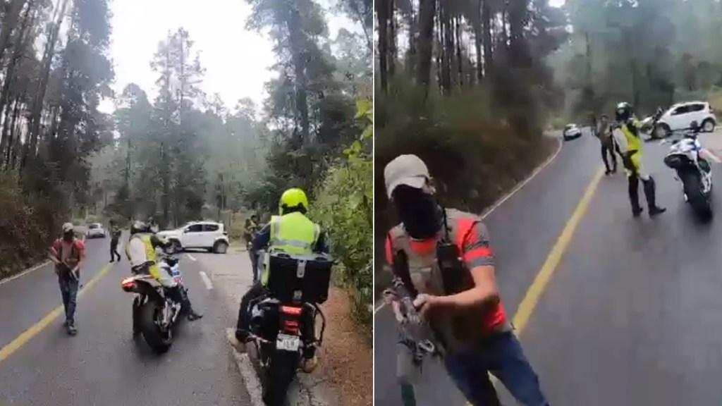 Fiscalía mexiquense investiga asalto a motociclistas en faldas del Nevado de Toluca - Asalto Edomex Nevado de Toluca México