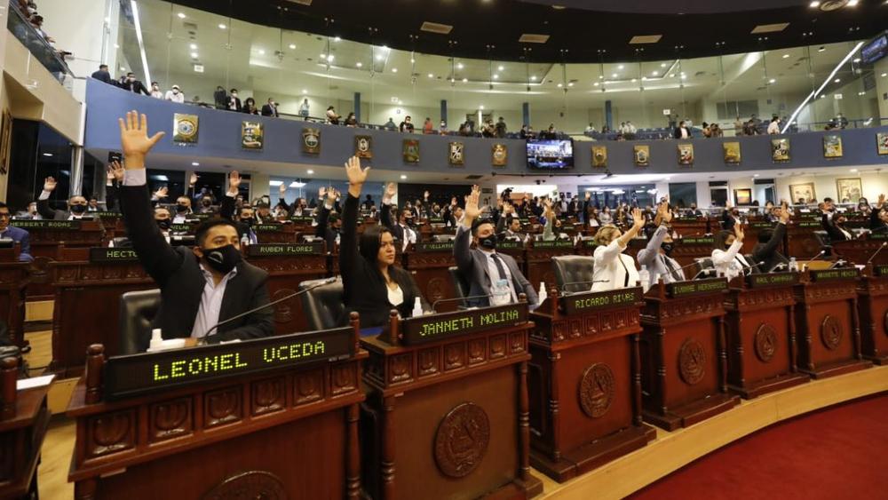 Congreso de El Salvador destituye a magistrados del Supremo - Asambles Legislativa El Salvador