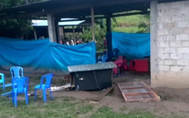 Presunto ataque terrorista deja al menos 18 muertos en selva central de Perú - Ataque terrorista en Perú. Foto de Canal N