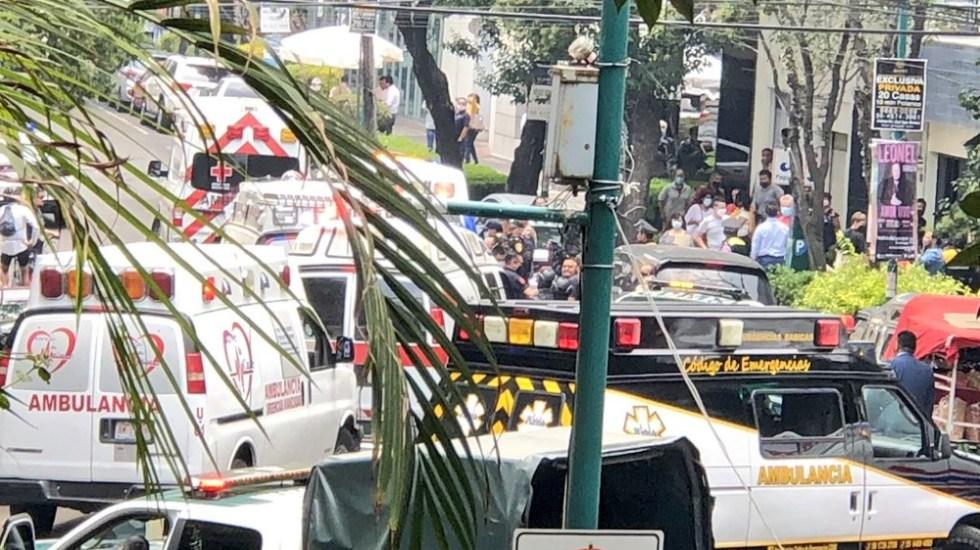 Policía frustra asalto en Zona Rosa; repele agresión y hiere a delincuente - Balacera Zona Rosa cdmx 12may21