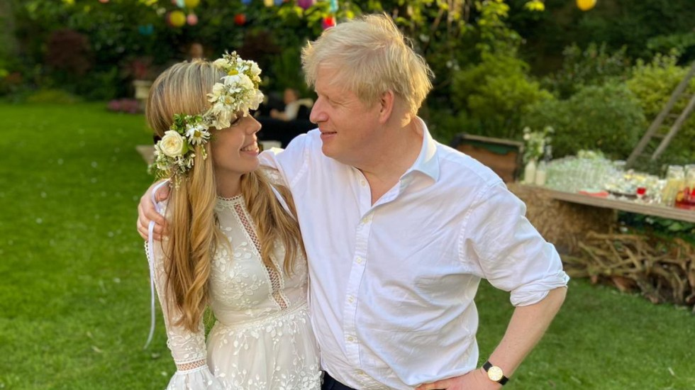 """Primer ministro británico Boris Johnson se casa """"en secreto"""" - Boris Johnson Primer Ministro Gran Bretaña boda"""