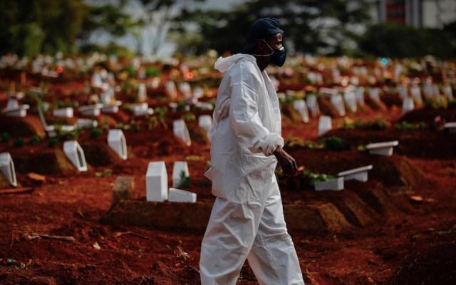 Brasil se acerca a las 460 mil muertes por COVID-19 - Brasil se acerca a las 460 mil muertes por COVID-19. Foto de EFE