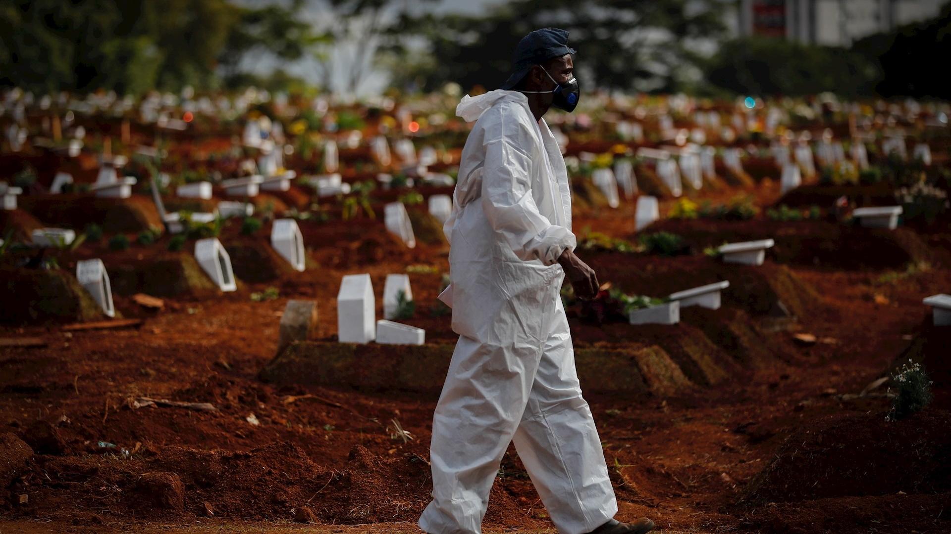 países Brasil pandemia COVID-19 coronavirus