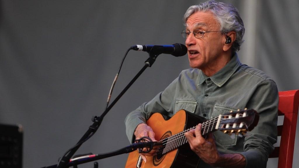 Caetano Veloso graba su primer disco inédito en casi una década - Caetano Veloso graba su primer disco inédito en casi una década. Foto de EFE