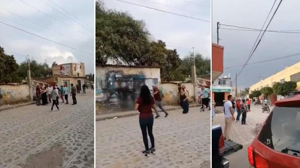 Agreden a equipo de Celia Maya en San Juan del Río; hay cuatro lesionados - Celia Maya Querétaro ataque agresión amigos