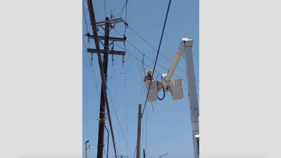 CFE restablece suministro eléctrico a 90% de usuarios en Nuevo Laredo - CFE Nuevo Laredo electricidad