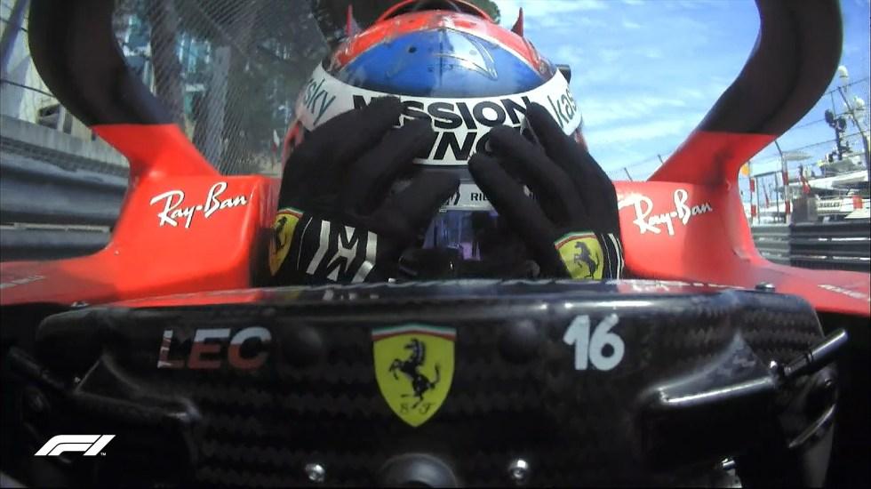 Leclerc no participará en el GP de Mónaco por avería en monoplaza - Charles Leclerc tras confirmarse su salida del GP de Mónaco. Foto de @F1
