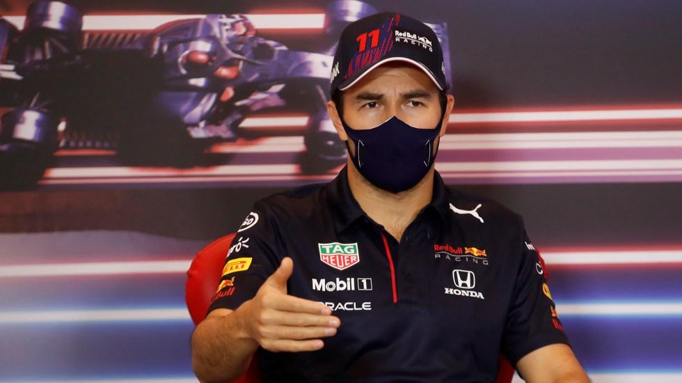 'Checo' Pérez marca el mejor tiempo en ensayo del GP de Mónaco - 'Checo' Pérez previo a primer ensayo del GP de Mónaco. Foto de EFE