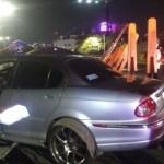 Conductor abandona auto de lujo tras accidente automovilístico en CDMX