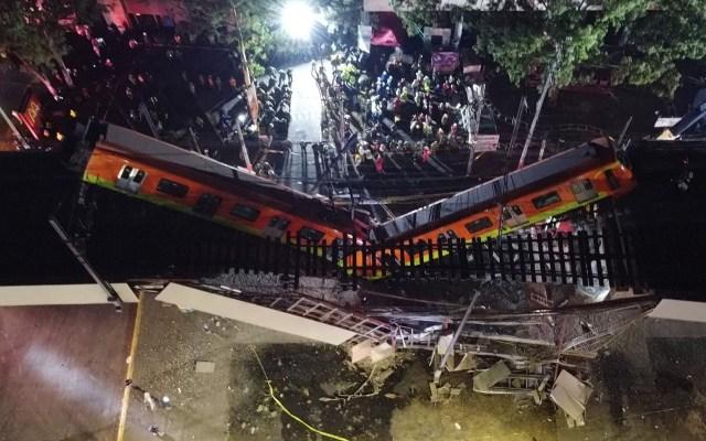 López Obrador respalda peritaje sobre colapso de la Línea 12 del Metro - colapso Línea 12 Metro CDMX