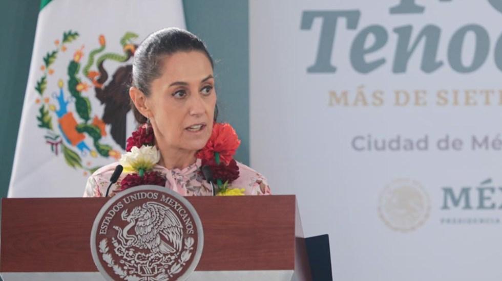 """""""Mujer excepcional, trabajadora, honesta"""": nuevo respaldo de AMLO a Sheinbaum - Claudia Sheinbaum"""