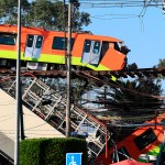Nuevo video del colapso en Línea 12 del Metro