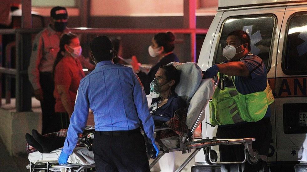 México registró en las últimas 24 horas 3 mil 846 casos y 484 muertes por COVID-19 - Situación del COVID-19 en Mexico. Foto de EFE