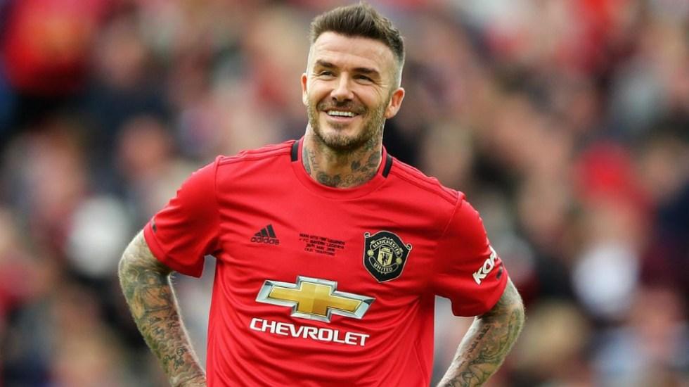 Beckham accede al Salón de la Fama de la Premier League - David Beckham