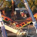 Falta de pernos funcionales en vigas, probable causa de colapso en L12 del Metro