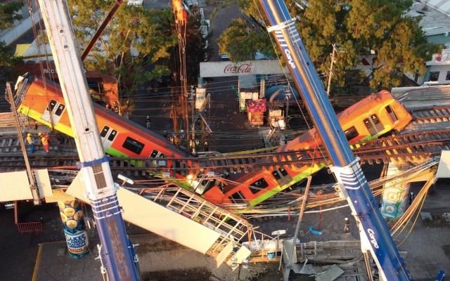 Falta de pernos funcionales en vigas, probable causa de colapso en L12 del Metro - El derrumbe en la Línea 12 del Metro en cinco claves. Foto de EFE