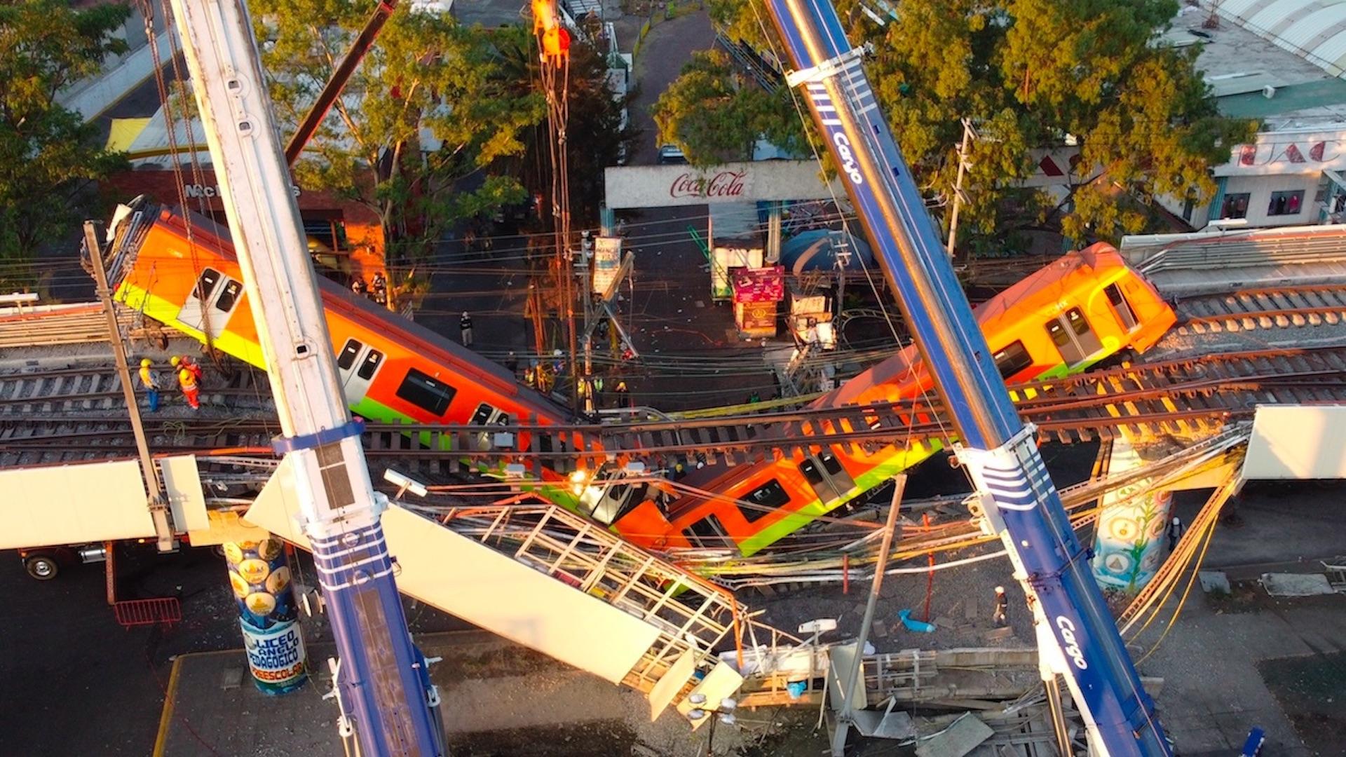 El derrumbe en la Línea 12 del Metro en cinco claves. Foto de EFE
