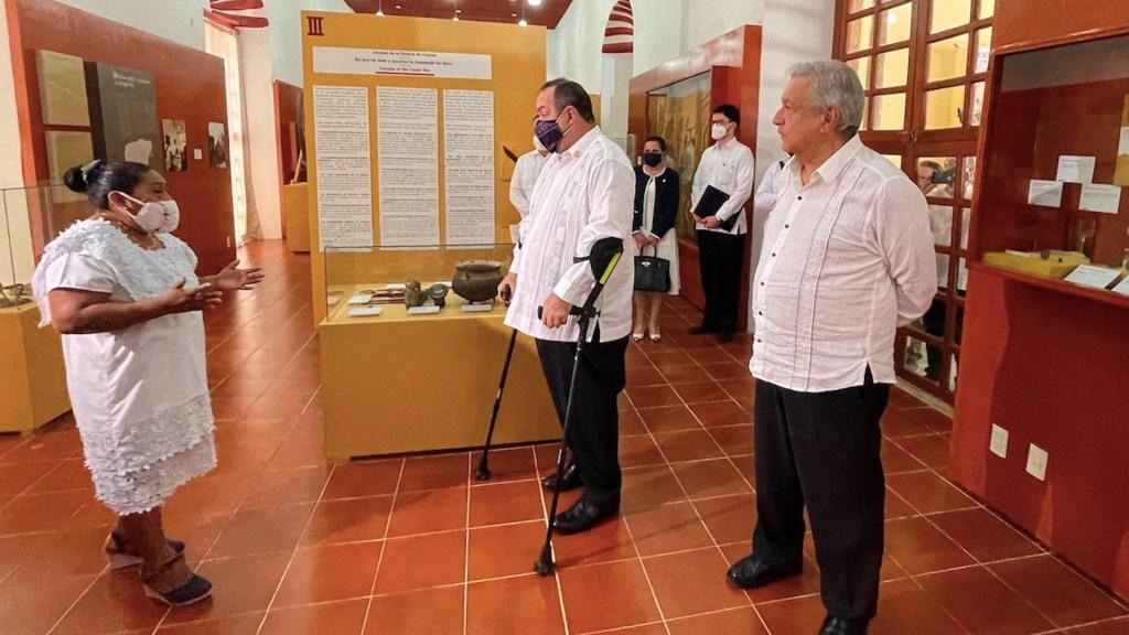 México y Guatemala se unen en las disculpas al pueblo maya - México y Guatemala se unen en las disculpas al pueblo maya. Foto de EFE