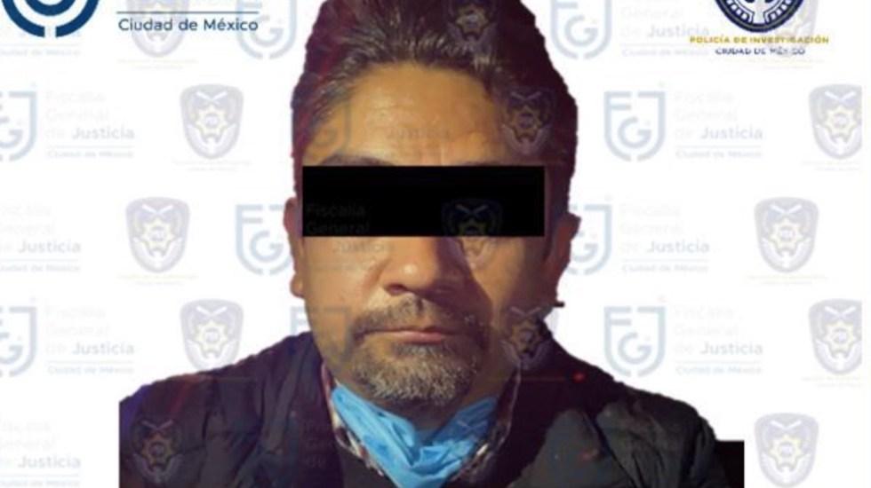 Cumplimentan quinta orden de aprehensión contra Édgar Tungüí - Cumplimentan tercera orden de aprehensión contra Édgar Tungüí. Foto de Fiscalía General de Justicia de la CDMX