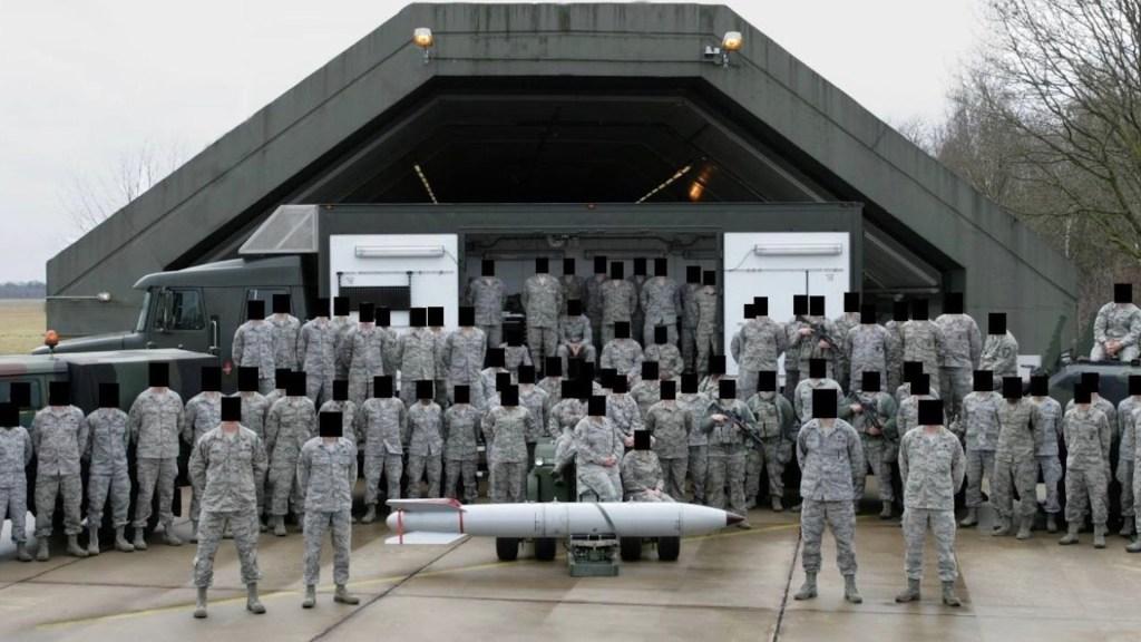 Soldados de EE.UU. revelan ubicación de armas nucleares por error - Soldados de EE.UU. revelan ubicación de armas nucleares accidentalmente. Foto de Bellingcat