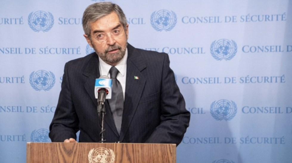 Embajador Juan Ramón de la Fuente recibe Medalla al Mérito Internacional 2020 del Congreso capitalino - Embajador Juan Ramón de la Fuente ONU Naciones Unidas