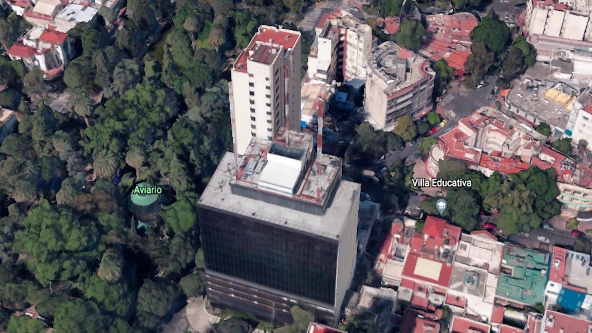 Emilio Castelar 75. Foto de Google Earth