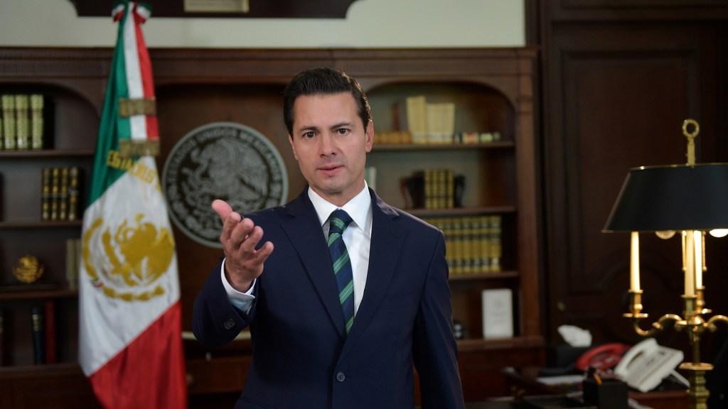 FGR deberá revelar investigaciones contra el expresidente Peña Nieto - Expresidente Enrique Peña Nieto. Foto de Presidencia de la República / Archivo