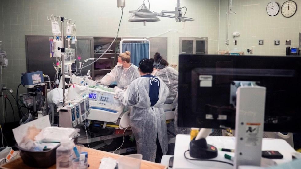 EE.UU. acumula 593 mil 156 muertes y más de 33 millones de contagios de COVID-19 - EE.UU. suma 584 mil 464 muertes y casi 33 millones de contagios por COVID-19. Foto de EFE