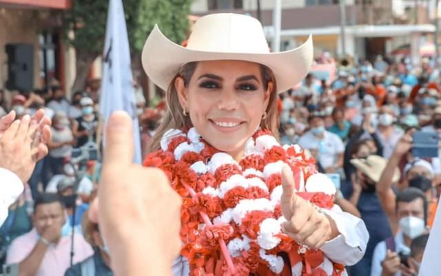 Evelyn Salgado con ventaja para gubernatura en Guerrero - Evelyn Salgado Pineda