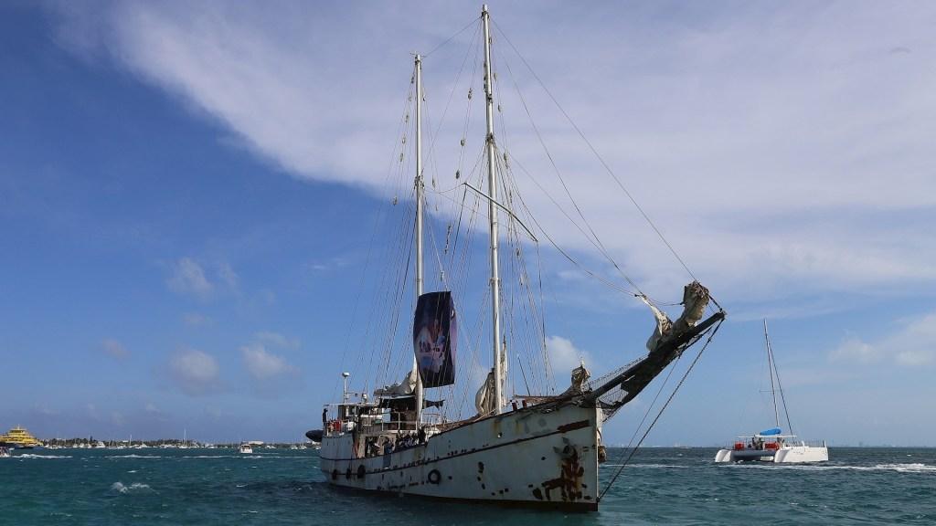 EZLN Barco Europa viaje