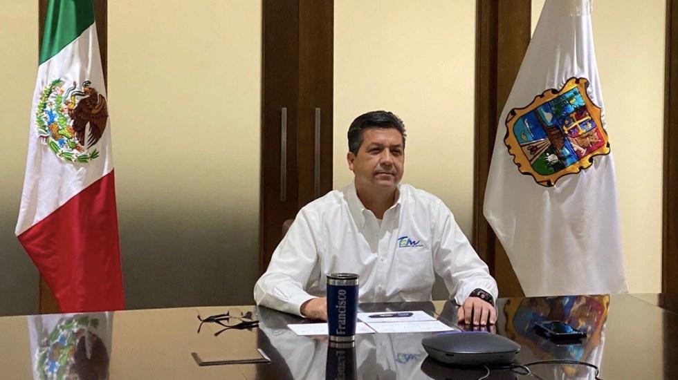 FGR impugna decisión de desechar controversia sobre fuero del gobernador García Cabeza de Vaca - Francisco García Cabeza de Vaca, gobernador de Tamaulipas. Foto de @fgcabezadevaca