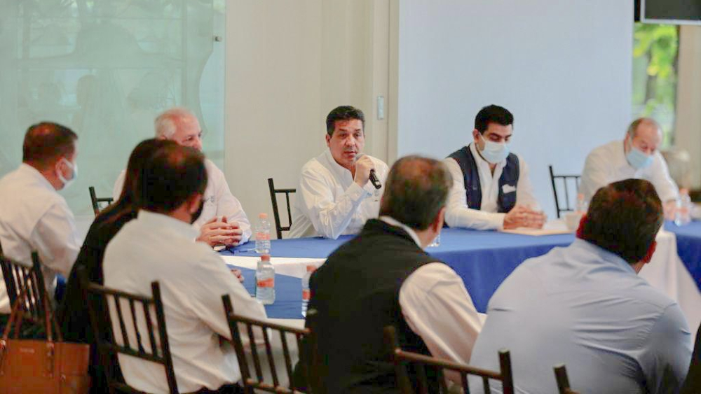 García Cabeza de Vaca sostiene reuniones de trabajo en Tamaulipas - Francisco García Cabeza de Vaca