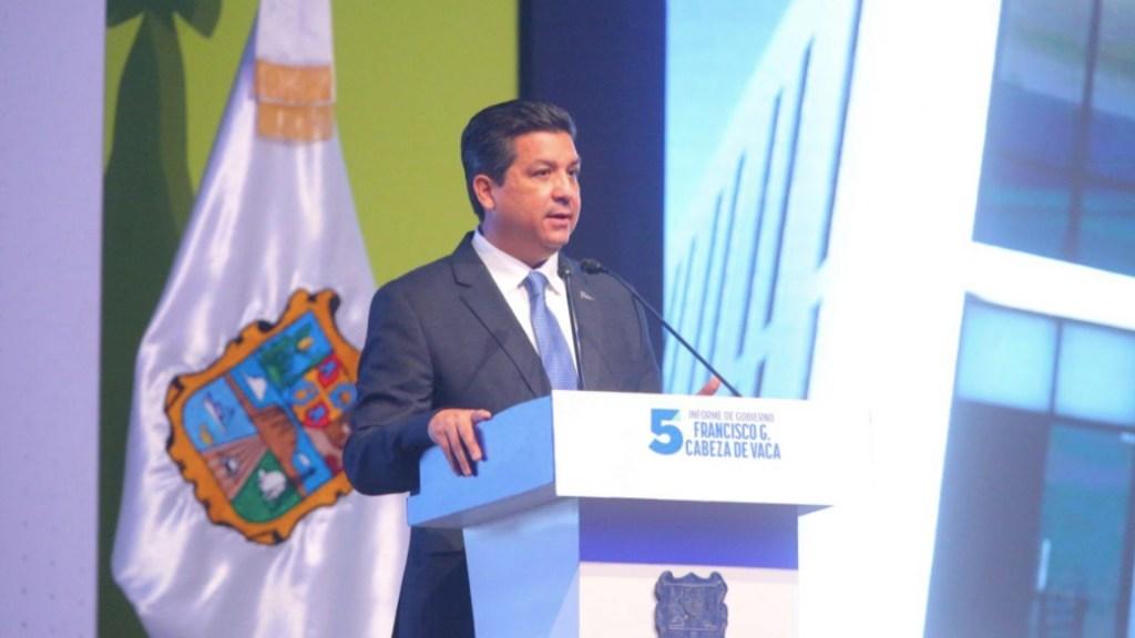 Realizan reunión de gabinete en Casa Tamaulipas; confirman que García Cabeza de Vaca se encuentra en las instalaciones - Francisco Javier García Cabeza de Vaca. Foto de Twitter @fgcabezadevaca