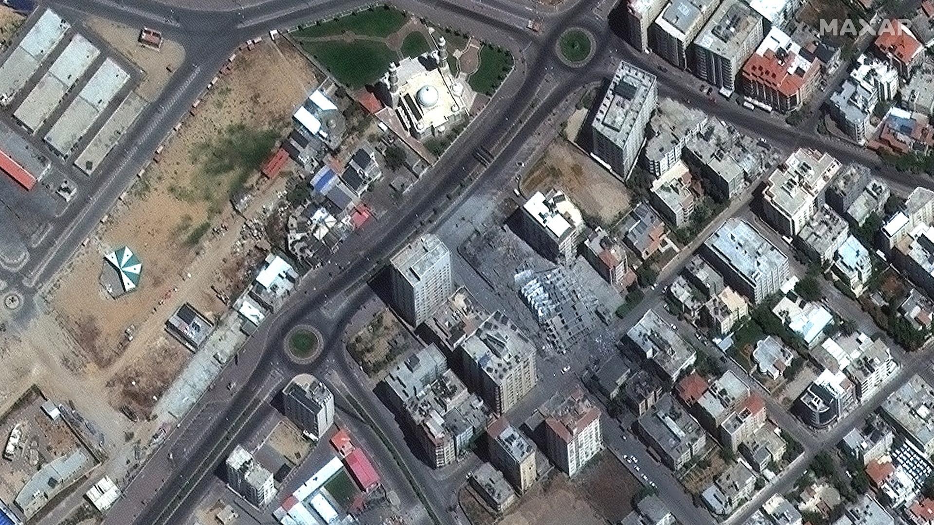 Gaza cohetes Israel milicias palestina 7