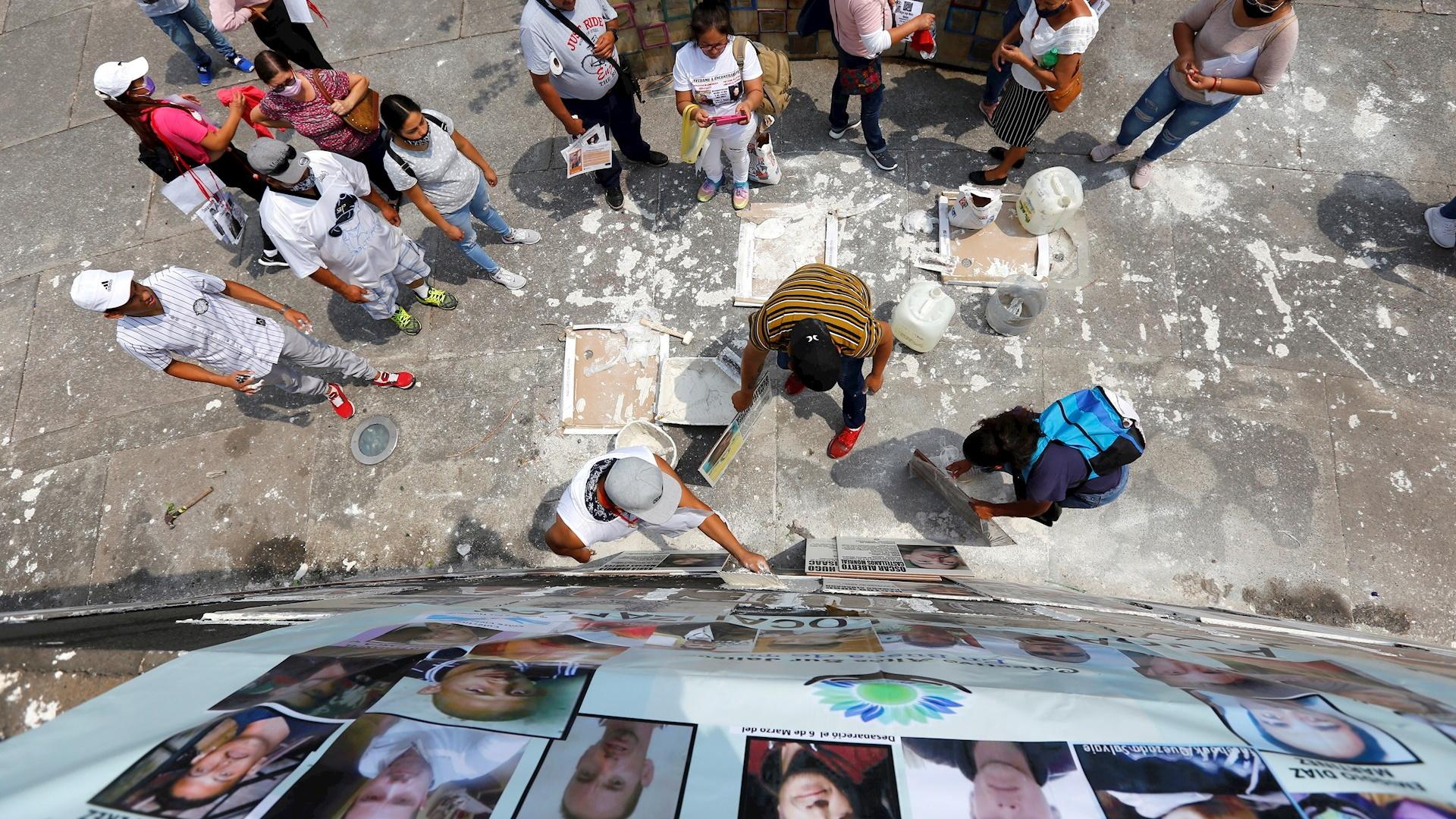 Guadalajara Jalisco estados desaparecidos losetas