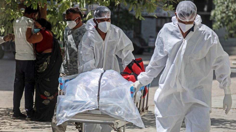 India baja de cuatro mil muertes diarias por COVID-19 - variante India COVID-19 coronavirus pandemia epidemia