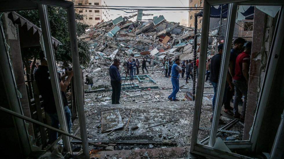 Biden habla con Netanyahu y por primera vez con Abás en plena crisis regional - Israel Gaza Biden Netanyahu Ábas