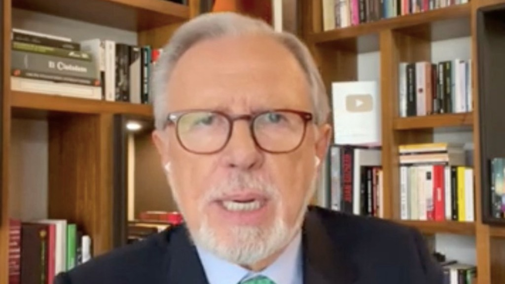 Joaquín López-Dóriga.Foto tomada de video