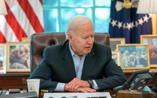 Ingresos de Joe Biden cayeron durante la campaña electoral de 2020 - Ingresos de Joe Biden cayeron durante la campaña electoral de 2020. Foto de @WhiteHouse