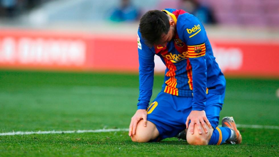 Barcelona y Atlético dejan LaLiga en manos del Real Madrid - Lionel Messi Barcelona