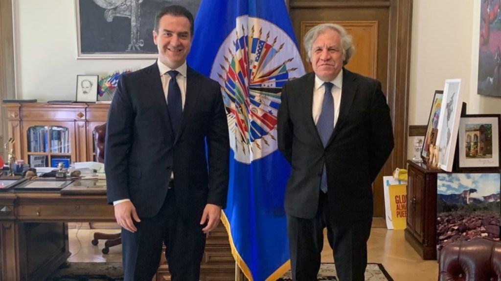 """Adrián de la Garza denuncia a AMLO ante la OEA por """"intervenir en las elecciones"""" - Luis Almagro OEA Adrián de la Garza Nuevo León"""