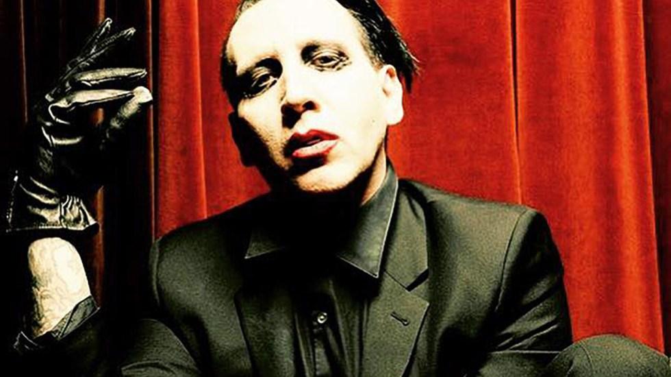 Giran orden de arresto en EE.UU. contra Marilyn Manson por agresión - Marilyn Manson. Foto de @MarilynManson