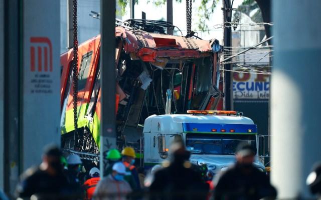 AMLO arremete contra medios por falta de ética en tragedia del Metro - Metro vagones colapso Línea 12 CDMX