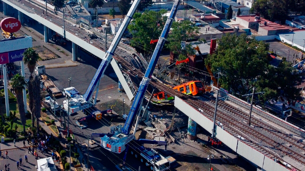 Metro Linea 12 colapso CDMX
