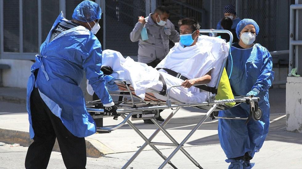 México registró en las últimas 24 horas mil 401 nuevos contagios y 50 muertes por COVID-19 - México COVID-19 coronavirus pandemia epidemia