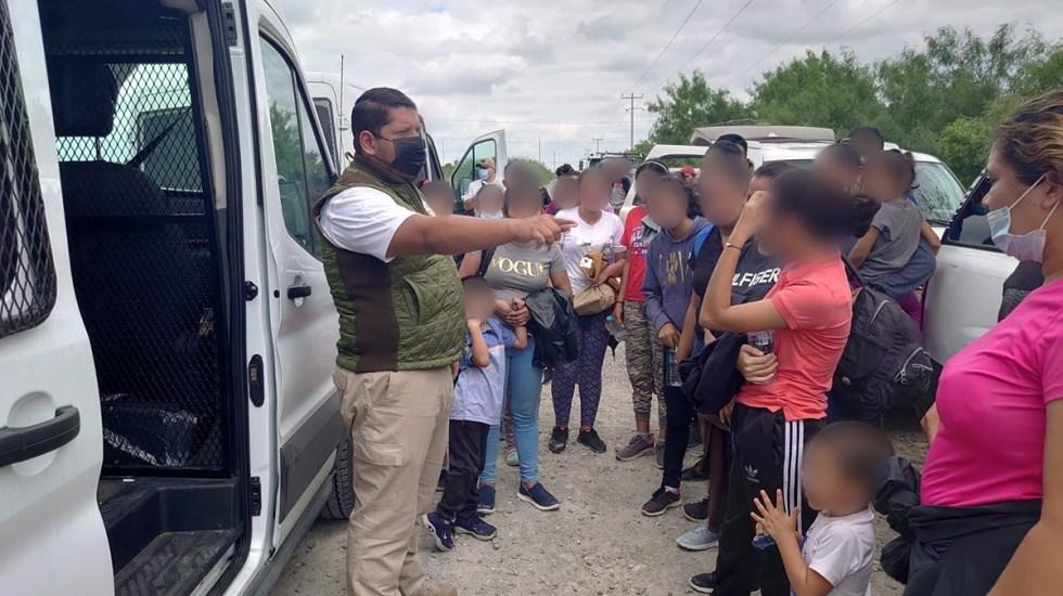 Amnistía Internacional pide a México suspender las deportaciones mientras dure la pandemia - Migrantes indocumentados en Nuevo León. Foto de @INAMI_mx