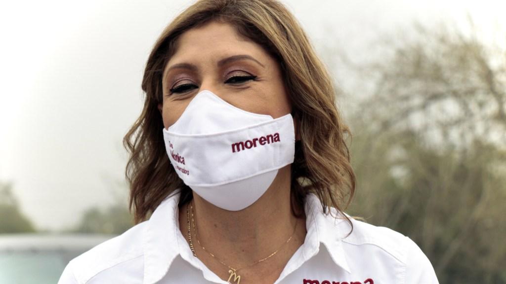 INE mantendrá candidatura de Mónica Rangel a gubernatura de San Luis Potosí - Mónica Rangel, candidata por Morena a la gubernatura de SLP. Foto de @DraMonicaRangel